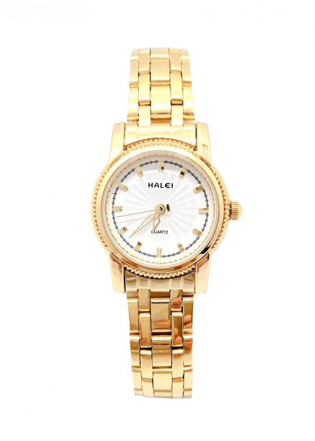 Đồng hồ Nữ Halei - HL501 Dây vàng