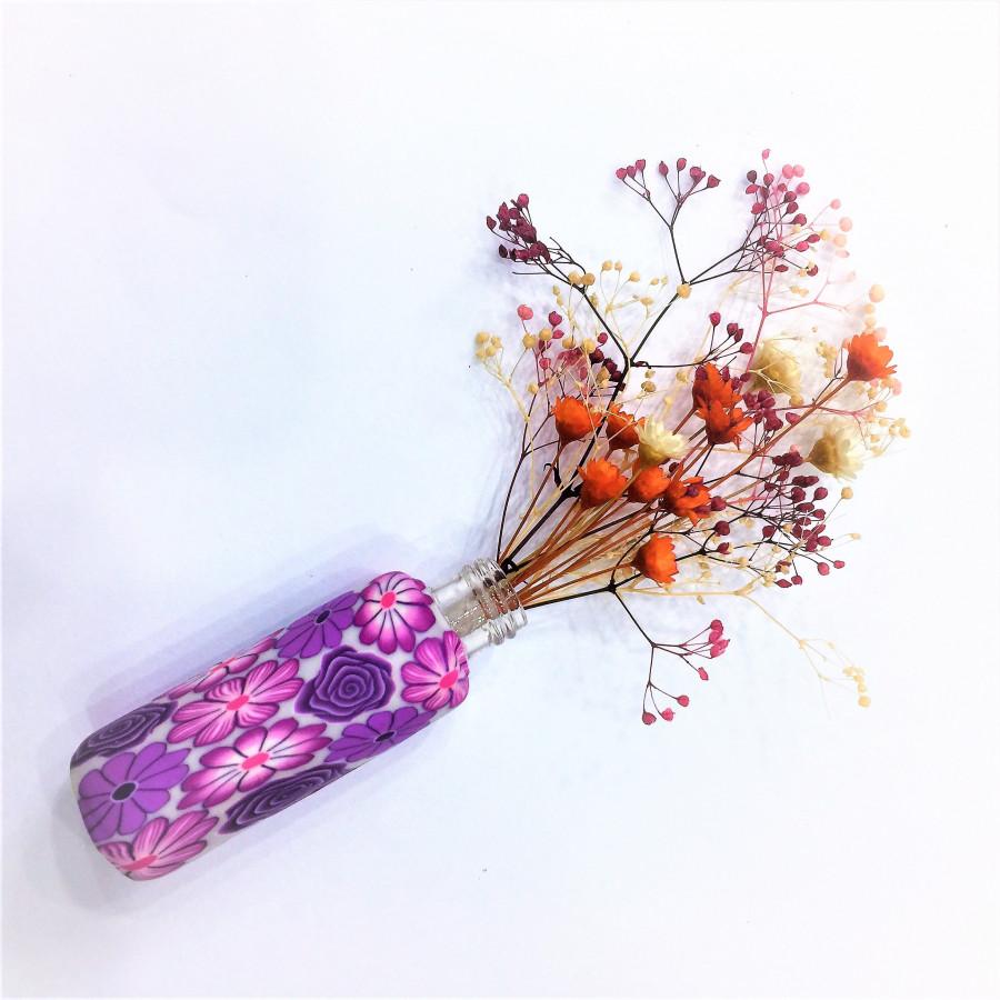 Bộ lọ và hoa khô mini đáng yêu - 0012