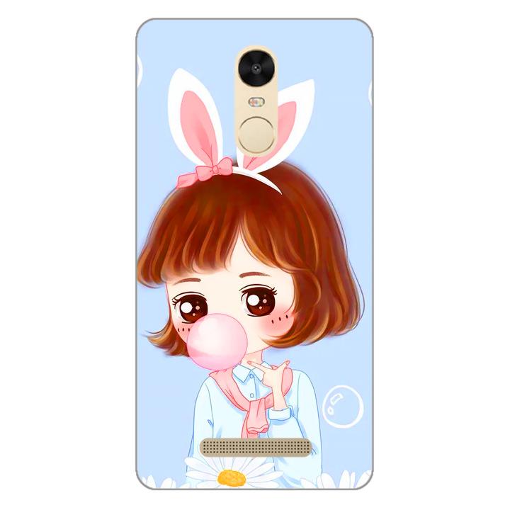 Ốp lưng dẻo cho điện thoại Xiaomi Redmi Note 3 - Baby Girl 03