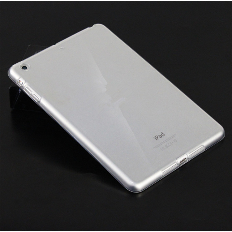 Ốp lưng silicone iPad 9.7 2018 ( trong suốt)