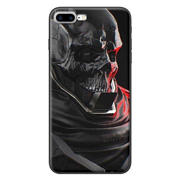 Ốp Lưng Dành Cho iPhone 7 Plus/ 8 Plus - Mẫu  Đầu Lâu