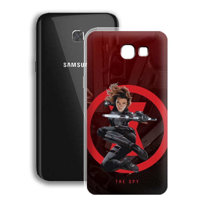 Ốp lưng cho điện thoại Samsung Galaxy A7 2017 / A720 - 01028 0538 SPY01 - Silicone dẻo - Hàng Chính Hãng