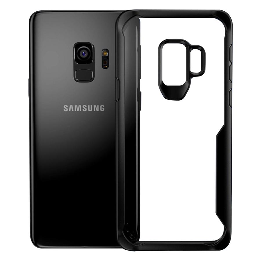 Ốp Lưng Chống Sốc Bảo Vệ Camera Ligus Cho Samsung Galaxy S9 - Hàng Chính Hãng