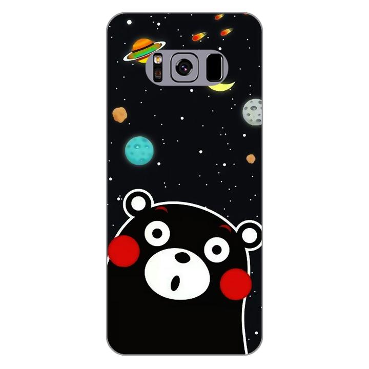 Ốp lưng dẻo Nettacase cho điện thoại Samsung Galaxy S8 Plus_0345 BEAR03 - Hàng Chính Hãng