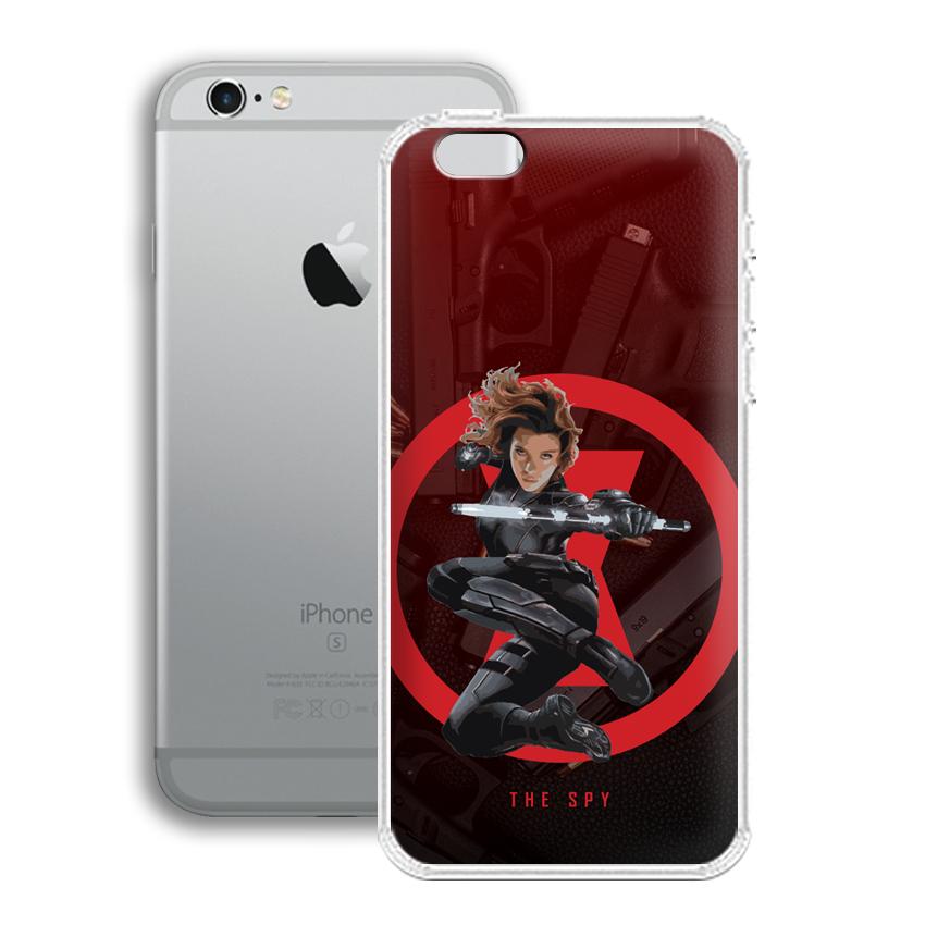 Ốp lưng cho điện thoại Apple Iphone 6 - 01011 0538 SPY01 - Silicone dẻo - Hàng Chính Hãng