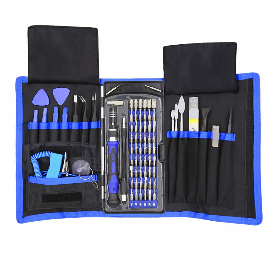 80 in 1 Precision Screwdriver Set with Magnetic Driver Kit Professional Electronics Repair Tool Sets with Portable
