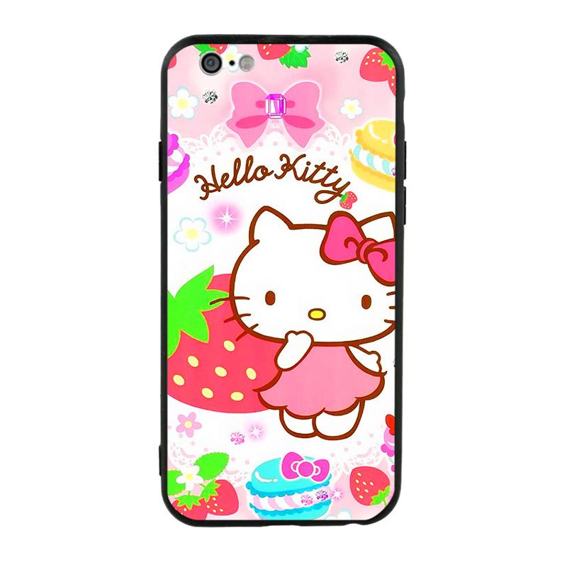 Ốp Lưng Viền TPU Cho iPhone 6/6S - Kute Cat