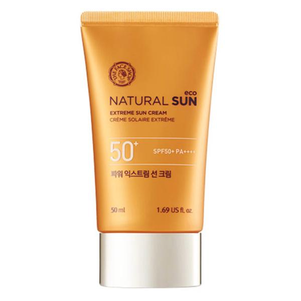 Kem Chống Nắng The Face Shop Natural Sun Eco Extreme Sun Cream SPF50+ PA++++ 31500239 (50ml) - 891473 , 3473741247961 , 62_1581351 , 590000 , Kem-Chong-Nang-The-Face-Shop-Natural-Sun-Eco-Extreme-Sun-Cream-SPF50-PA-31500239-50ml-62_1581351 , tiki.vn , Kem Chống Nắng The Face Shop Natural Sun Eco Extreme Sun Cream SPF50+ PA++++ 31500239 (50ml)