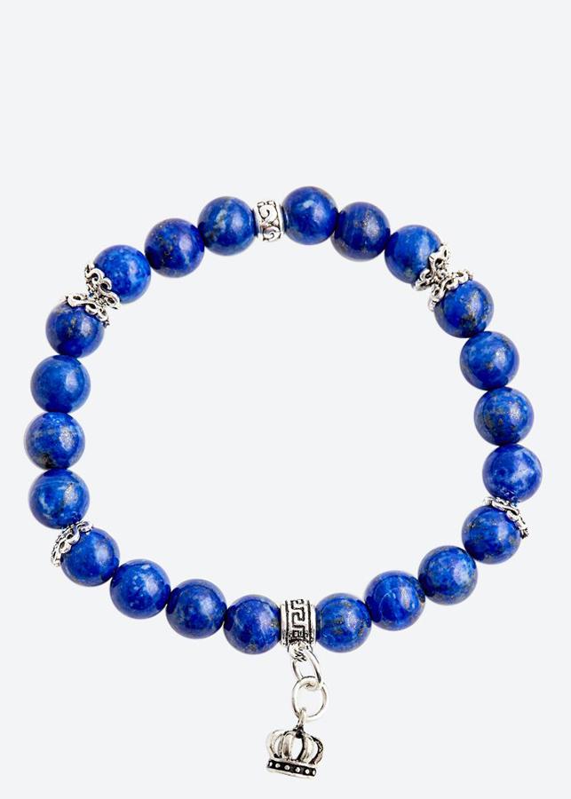 Vòng tay đá lapis lazuli charm vương miện Ngọc Quý Gemstones - 759678 , 2973177017639 , 62_8347015 , 1800000 , Vong-tay-da-lapis-lazuli-charm-vuong-mien-Ngoc-Quy-Gemstones-62_8347015 , tiki.vn , Vòng tay đá lapis lazuli charm vương miện Ngọc Quý Gemstones