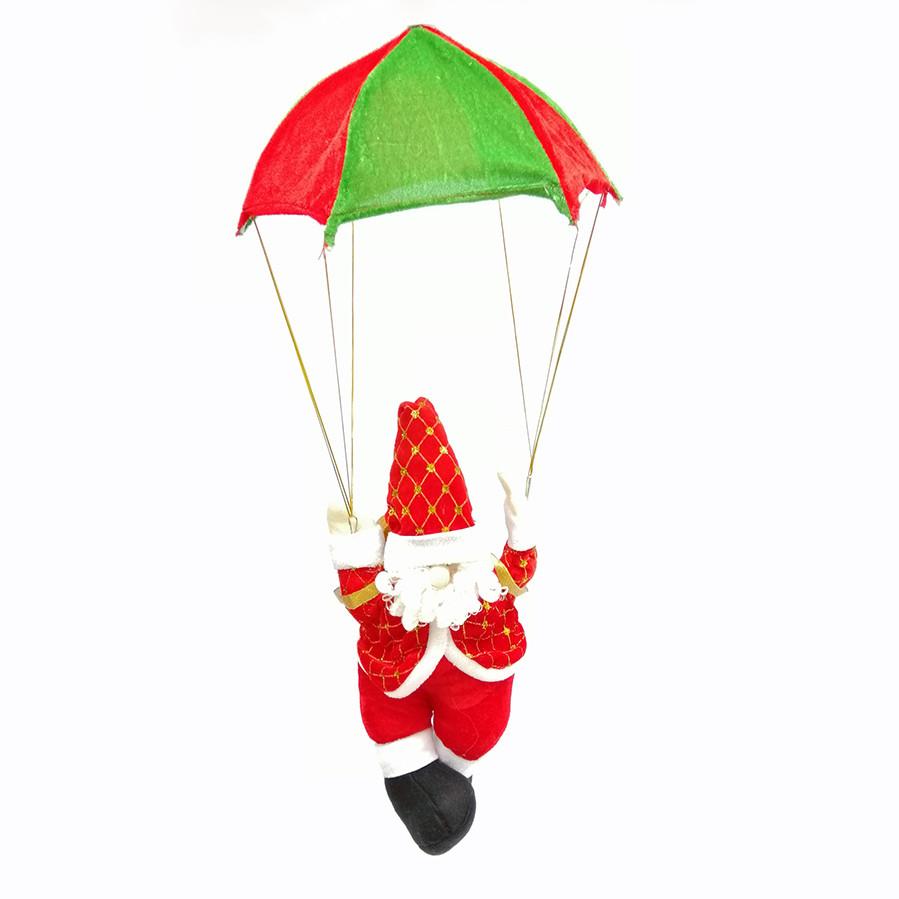 Ông già Noel treo dù trang trí Giáng Sinh