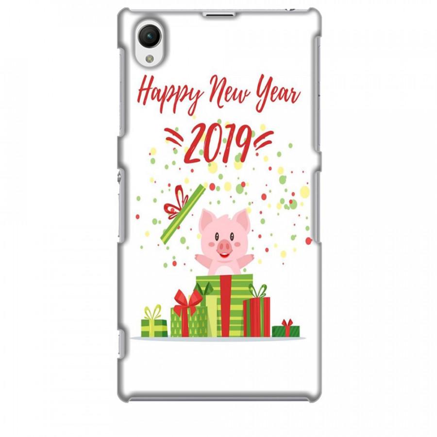 Ốp lưng dành cho điện thoại SONY Z1 Happy New Year Mẫu 3