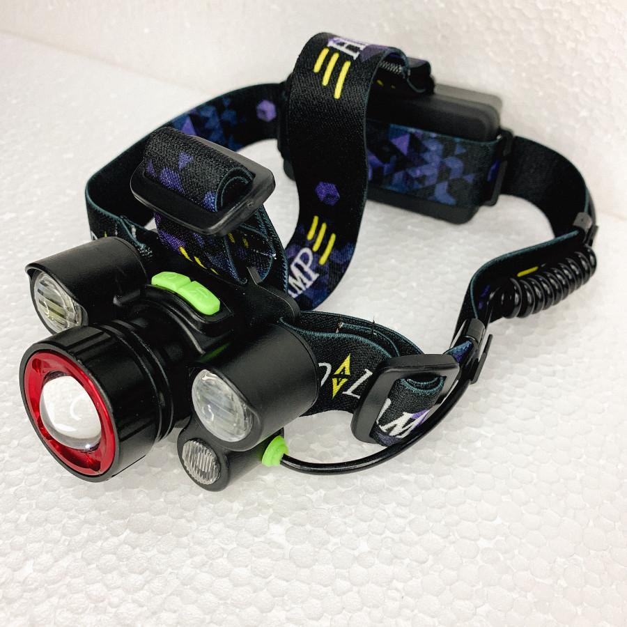 Đèn pin đội đầu kiểu mới HIGH POWER HEADLAMP - 4xCREE XPE - chính hãng