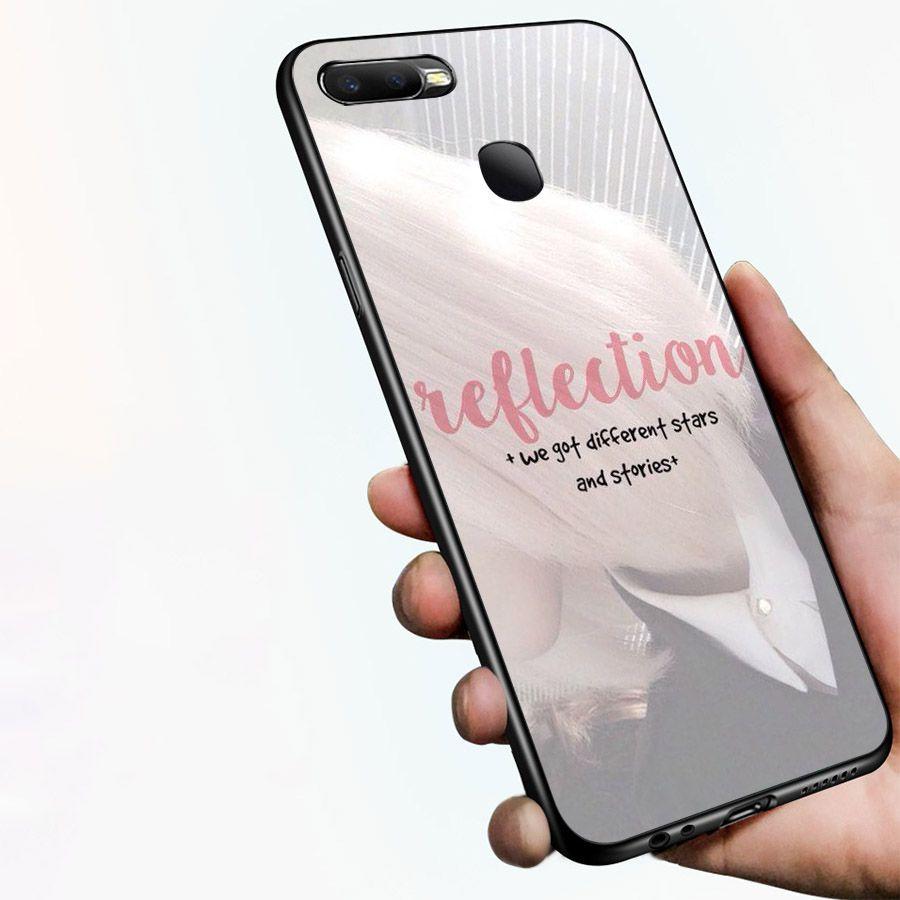 Ốp kính cường lực dành cho điện thoại Oppo F9 - A7 - lời trích truyền cảm hứng - quotes - cam2086