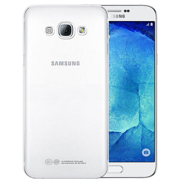 Ốp Nhựa Mềm Biaze Cho Samsung A8 - Trắng Trong Suốt