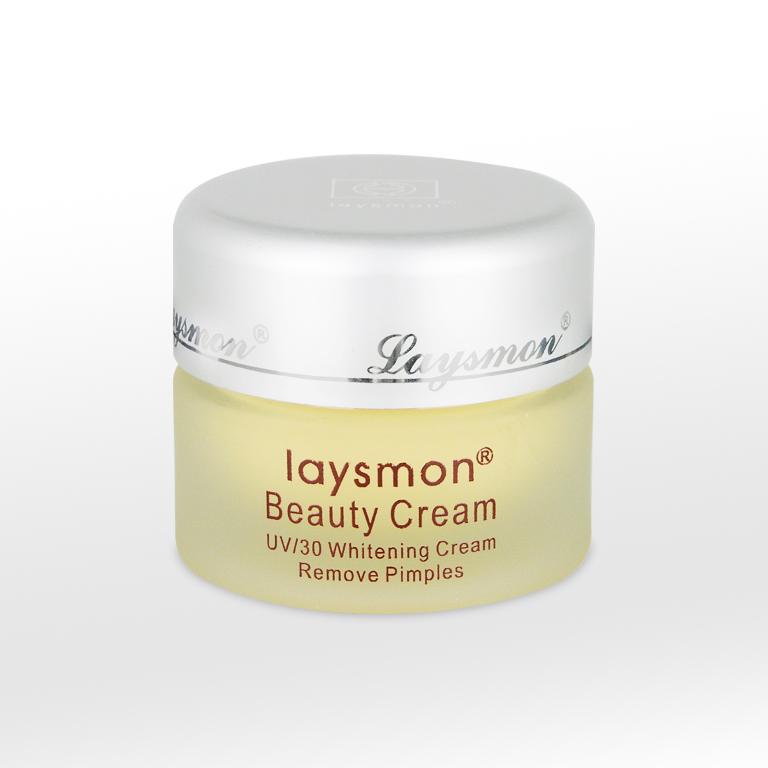 Kem trị mụn và làm trắng da Laysmon UV/30
