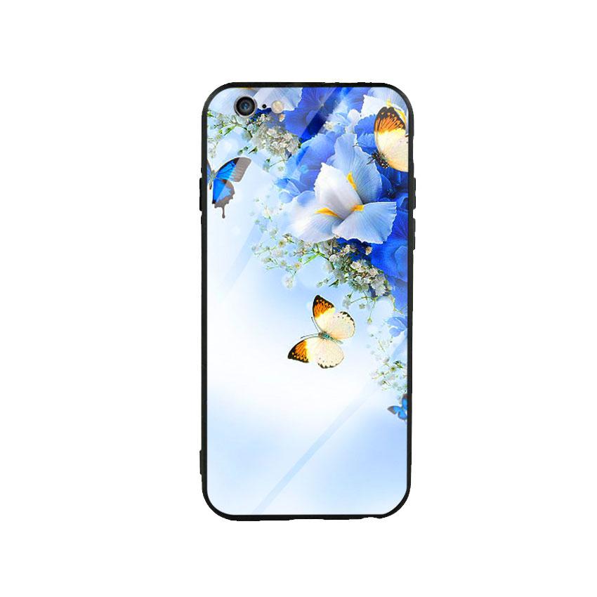 Ốp lưng kính cường lực cho điện thoại Iphone 6 Plus / 6s Plus - Butterfly 04