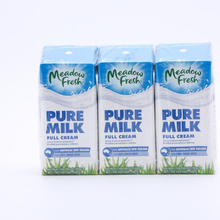 Lốc 3 hộp sữa MEADOW FRESH nguyên kem 200ML - 789777 , 5991095264833 , 62_14659407 , 50000 , Loc-3-hop-sua-MEADOW-FRESH-nguyen-kem-200ML-62_14659407 , tiki.vn , Lốc 3 hộp sữa MEADOW FRESH nguyên kem 200ML