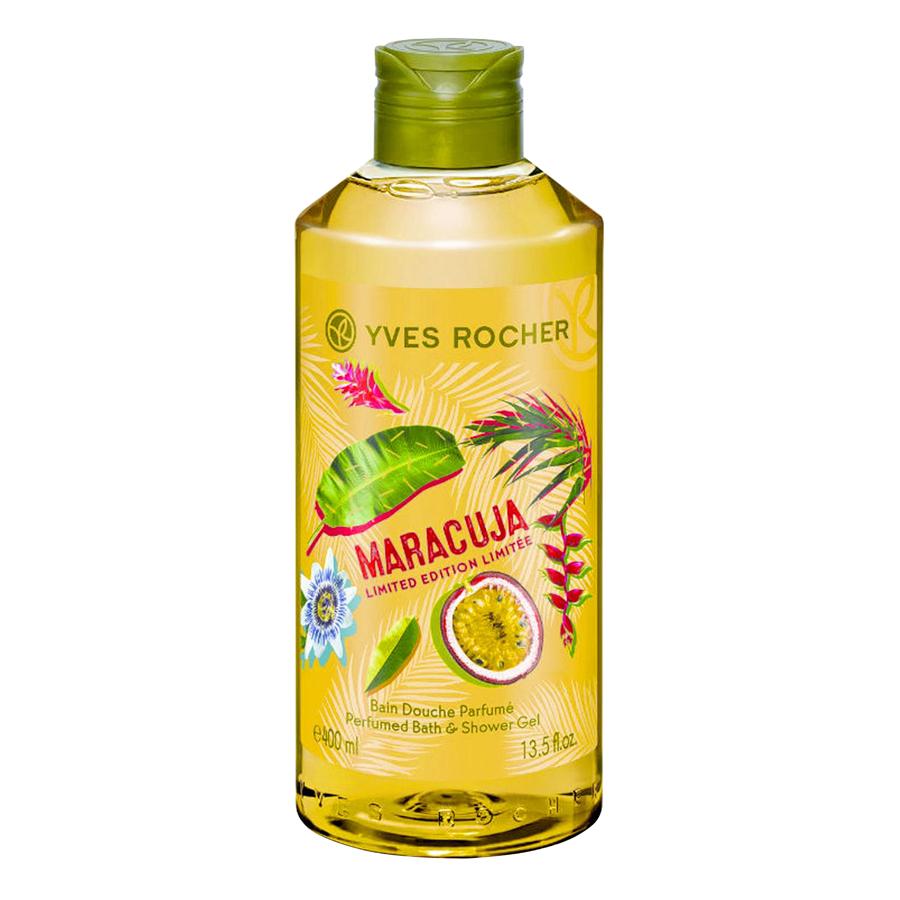Gel Tắm Yves Rocher Maracuja Perfumed Bath  Shower Gel 400ml