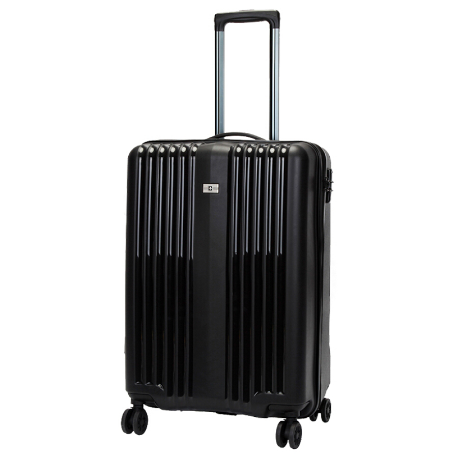 SUISSEWIN universal wheel trolley case SN8808 business travel suitcase simple casual stripes boarding 20 inch white - 1907721 , 5127433199806 , 62_10254426 , 1472000 , SUISSEWIN-universal-wheel-trolley-case-SN8808-business-travel-suitcase-simple-casual-stripes-boarding-20-inch-white-62_10254426 , tiki.vn , SUISSEWIN universal wheel trolley case SN8808 business trave