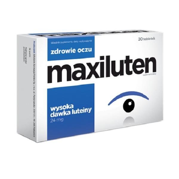 Thực phẩm chức năng Viên Bổ Mắt Maxiluten - Tăng cường thị lực, bảo vệ mắt sáng khỏe