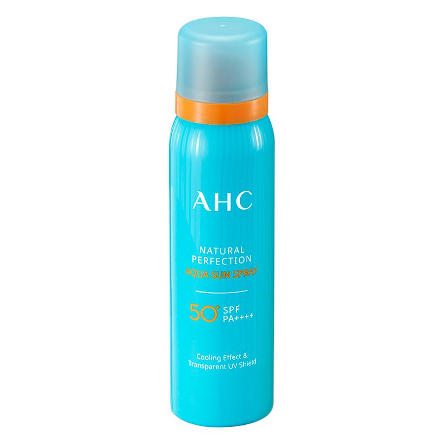 Xịt Chống Nắng AHC Natural Perfection Aqua (80ml)