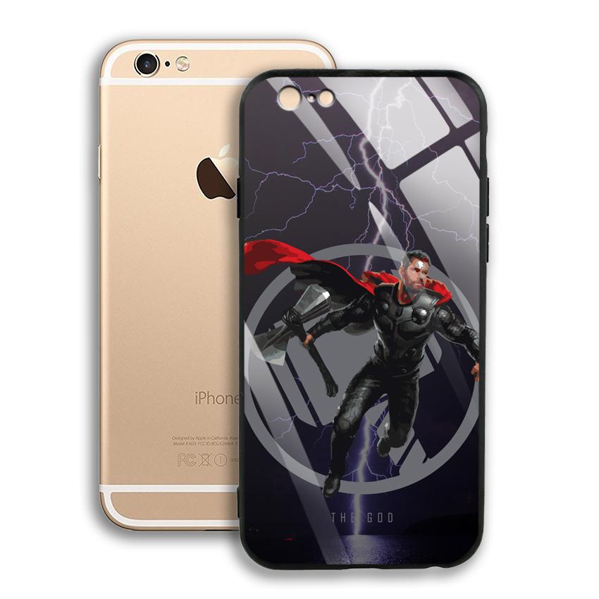Ốp Lưng Kính Cường Lực cho điện thoại Apple Iphone 6 / 6S - 03001 0540 GOD01 - Hàng Chính Hãng