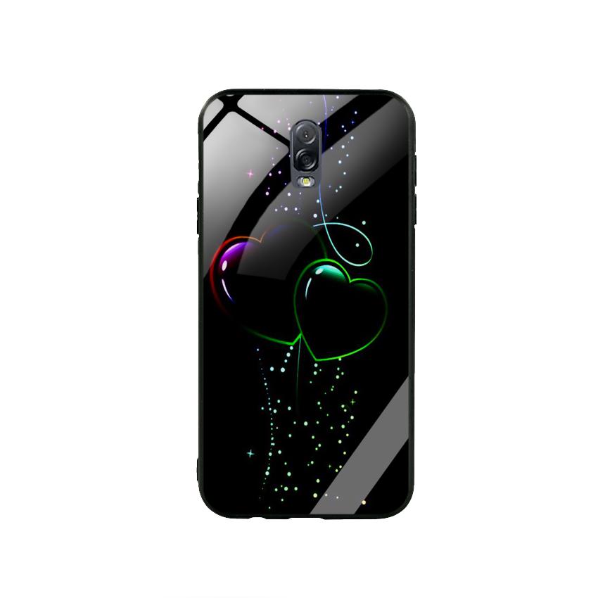 Ốp Lưng Kính Cường Lực cho điện thoại Samsung Galaxy J7 Plus - Heart 12
