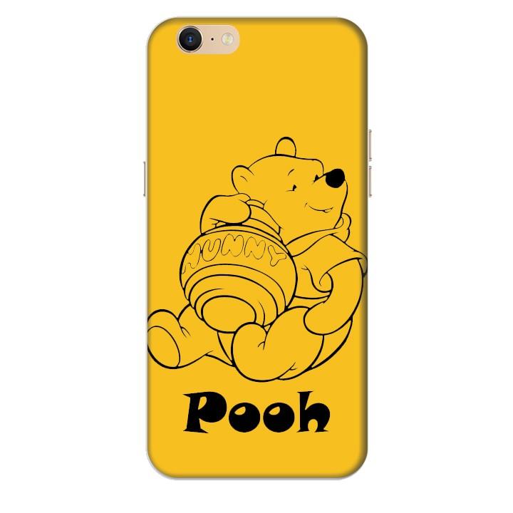 Ốp lưng nhựa cứng nhám dành cho Oppo Neo 9S A39 in hình Pooh