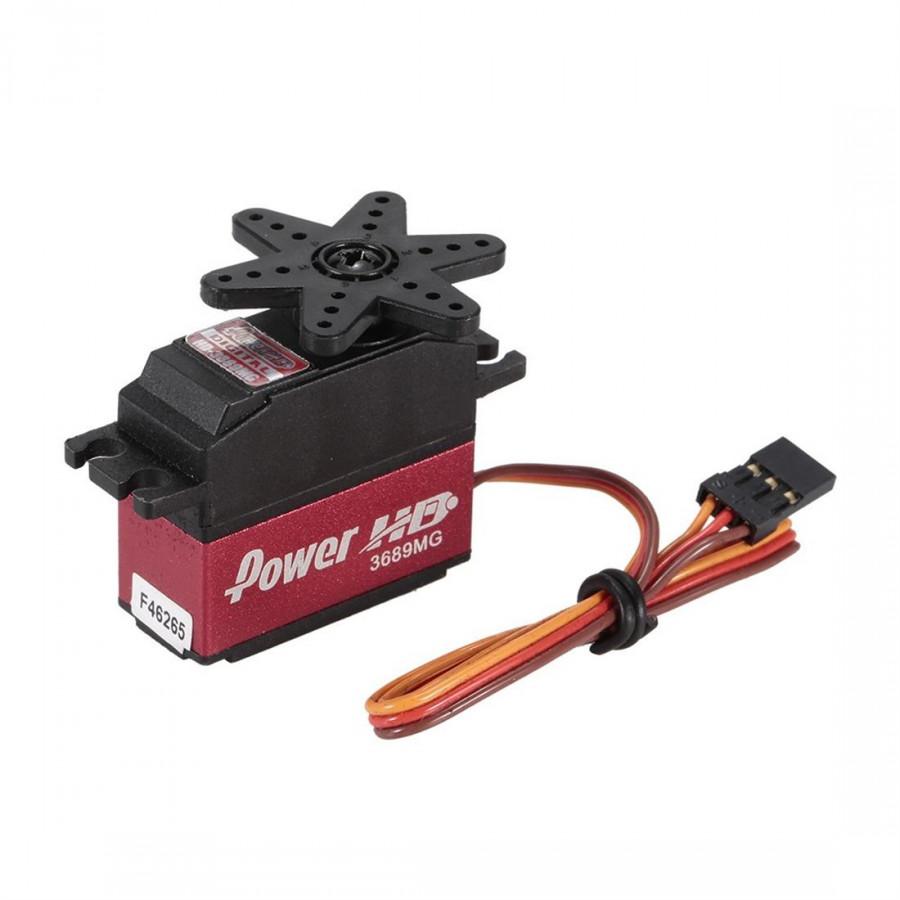 Động Cơ Servo Power HD 3689MG 4.8Kg/0.09sec HIGH TORQUE