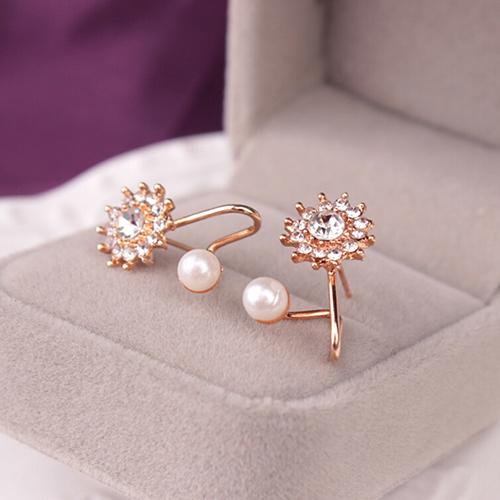 Women Sweet Rhinestone Faux Pearl Snowflake Ear Stud Earrings Jewelry Charm - 16605997 , 1553007388163 , 62_26955706 , 109000 , Women-Sweet-Rhinestone-Faux-Pearl-Snowflake-Ear-Stud-Earrings-Jewelry-Charm-62_26955706 , tiki.vn , Women Sweet Rhinestone Faux Pearl Snowflake Ear Stud Earrings Jewelry Charm