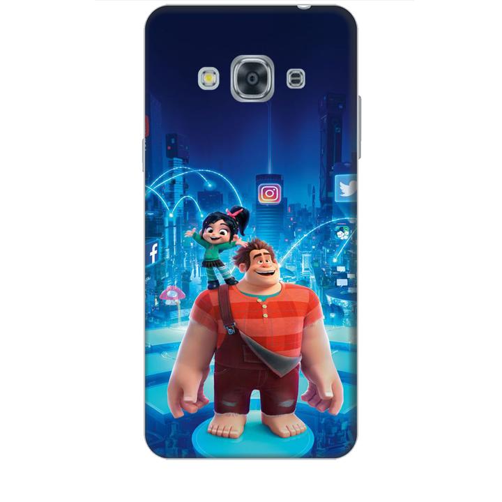 Ốp lưng dành cho điện thoại  SAMSUNG GALAXY J3 PRO 2016 hình Big Hero Mẫu 01