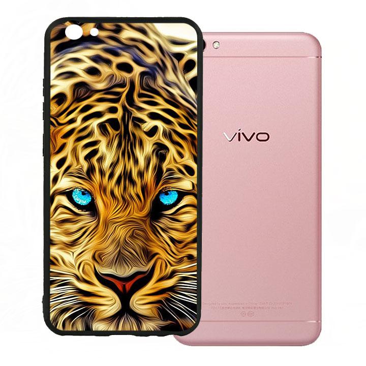 Ốp lưng viền TPU cho Vivo V5 - Báo Đốm