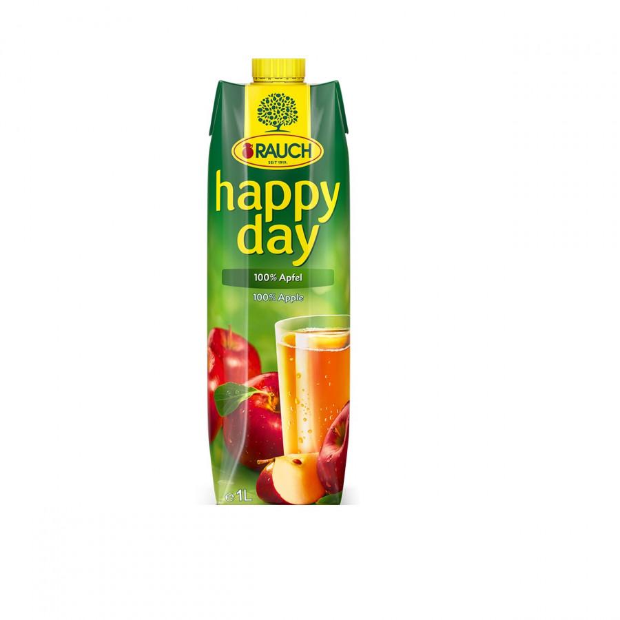 Nước ép Táo nguyên chất 100% hiệu Rauch - Happy Day 1L
