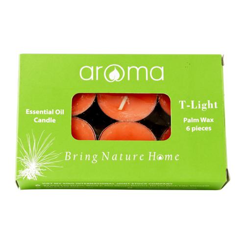 Nến Thơm Tinh Dầu Green Aroma - Calm Blend #C1 (6 Viên Nến / Hộp)