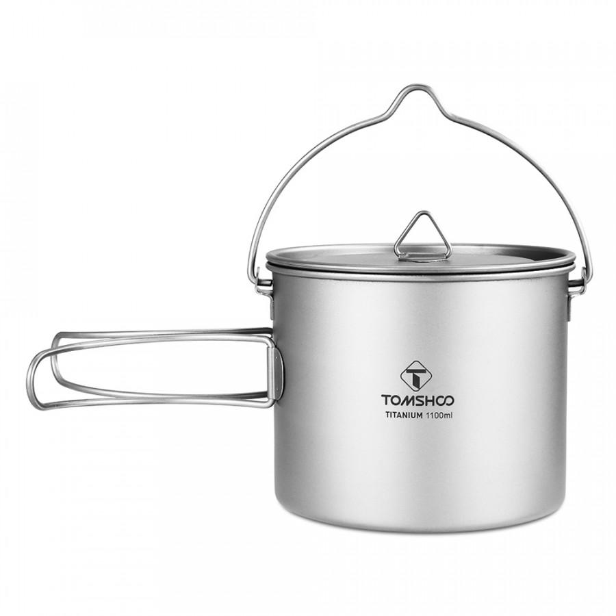 TOMSHOO 1100ml Titanium Pot