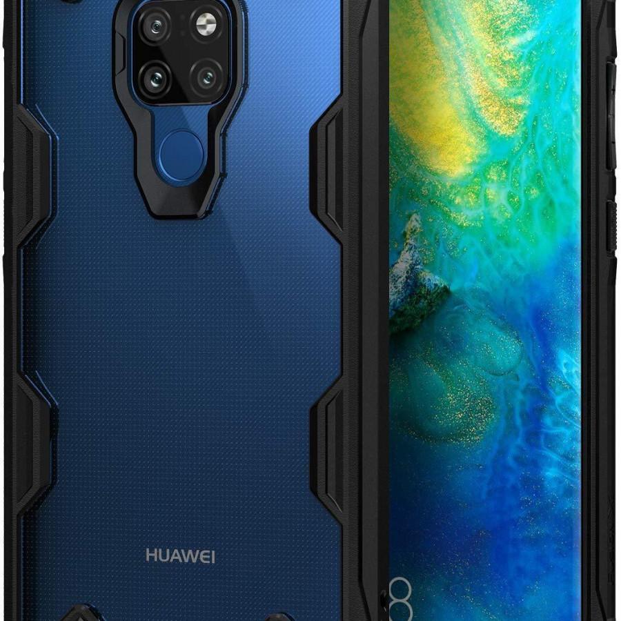 Ốp lưng chống sốc hàng hiệu Ringke Fusion X cho Huawei Mate 20 Pro / Huawei Mate 20 - Hàng chính hãng