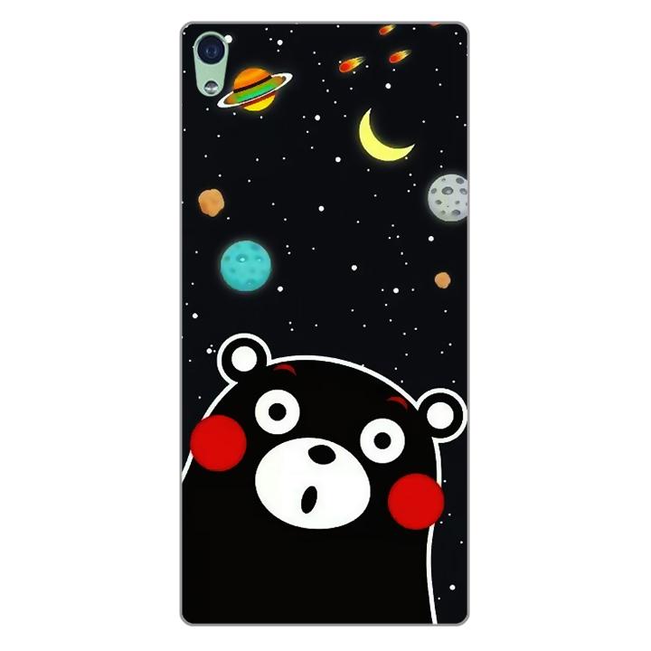 Ốp lưng dẻo Nettacase cho điện thoại Sony XA Ultra _0345 BEAR03 - Hàng Chính Hãng