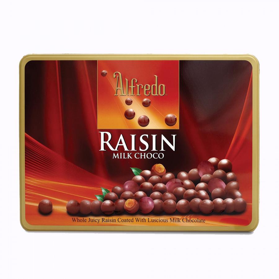 Kẹo Socola Raisin Alfredo - Đỏ (300g/Hộp)