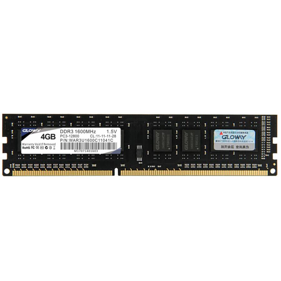 Bộ Nhớ RAM DDR3 GLOWAY (4GB) - 996083 , 9383631071634 , 62_5614279 , 672000 , Bo-Nho-RAM-DDR3-GLOWAY-4GB-62_5614279 , tiki.vn , Bộ Nhớ RAM DDR3 GLOWAY (4GB)