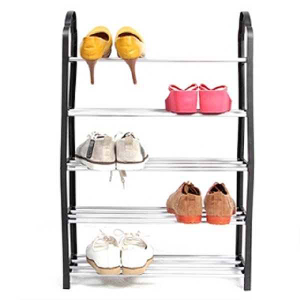 Kệ để giày 5 tầng tiện ích nhựa kết hợp inox - 15723309 , 2652093876284 , 62_28909312 , 150000 , Ke-de-giay-5-tang-tien-ich-nhua-ket-hop-inox-62_28909312 , tiki.vn , Kệ để giày 5 tầng tiện ích nhựa kết hợp inox