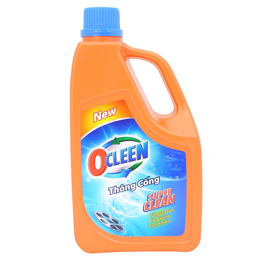Nước Thông Cống OCLEEN (1L)