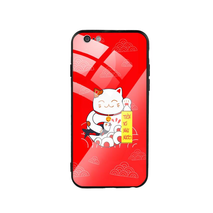 Ốp Lưng Kính Cường Lực cho điện thoại Iphone 6 / 6s - Mèo May Mắn 02 - 767207 , 1424012359892 , 62_14808534 , 250000 , Op-Lung-Kinh-Cuong-Luc-cho-dien-thoai-Iphone-6--6s-Meo-May-Man-02-62_14808534 , tiki.vn , Ốp Lưng Kính Cường Lực cho điện thoại Iphone 6 / 6s - Mèo May Mắn 02
