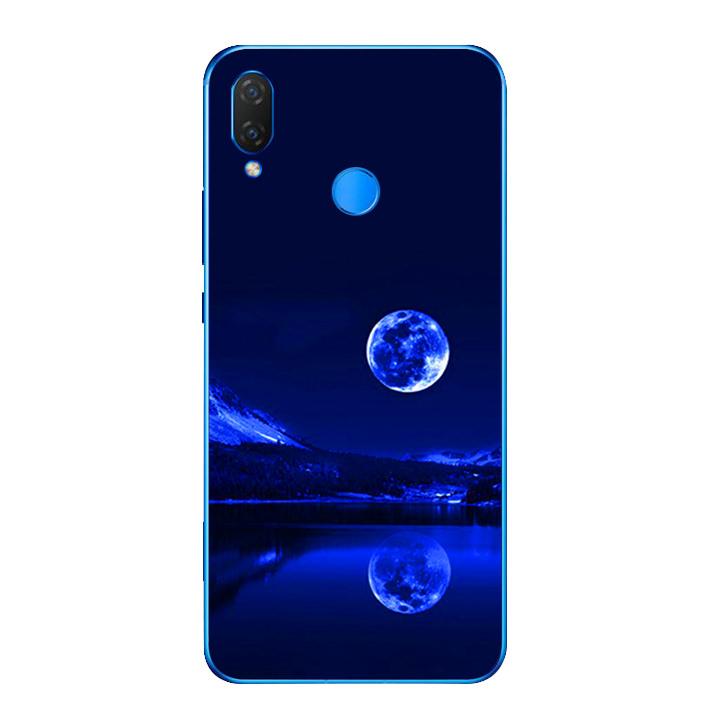 Ốp lưng dẻo cho điện thoại Huawei Y9 2019 - Moon 02