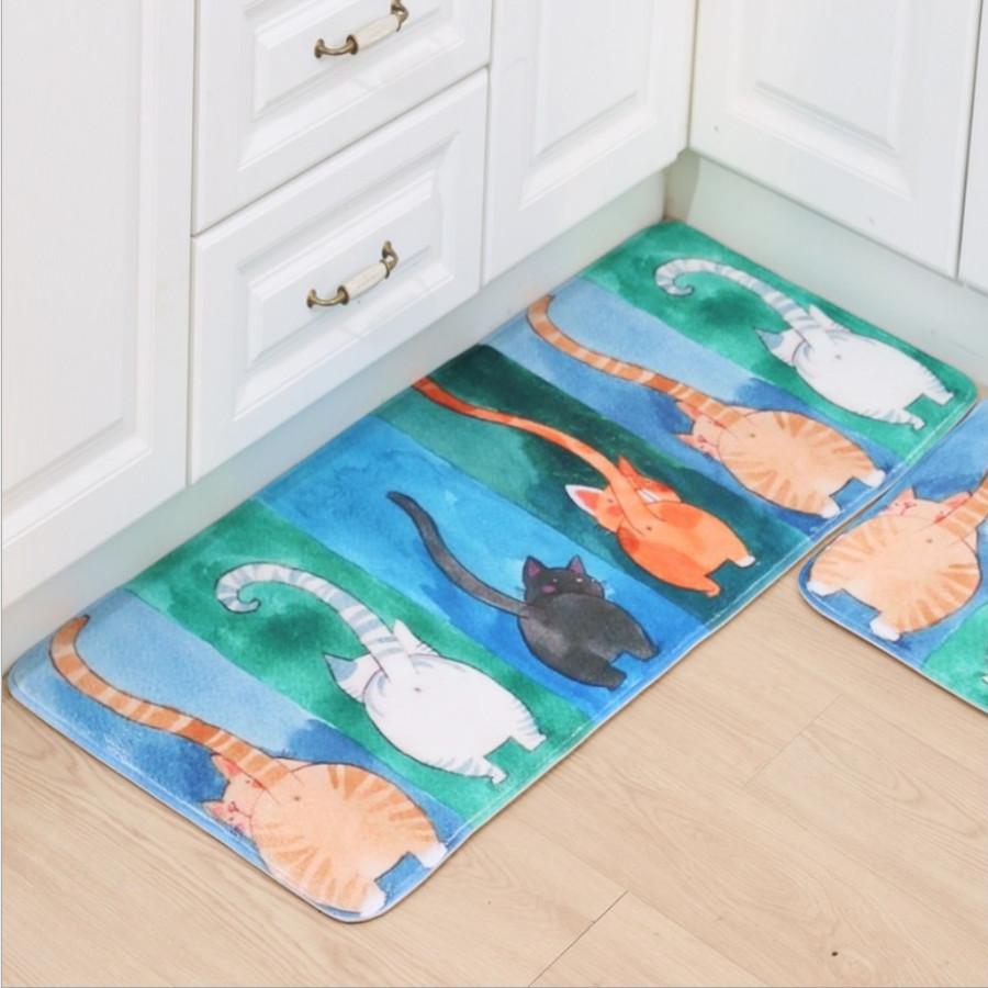 Bộ 02 thảm nhà Bếp (50 x 80 cm và 50 x 120 cm)