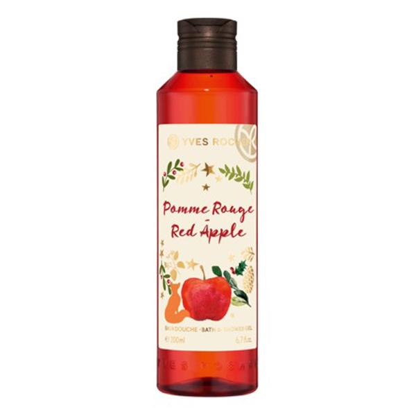 Gel Tắm Yves Rocher Pommer Rouge Red Apple Bath  Shower Gel 200ml