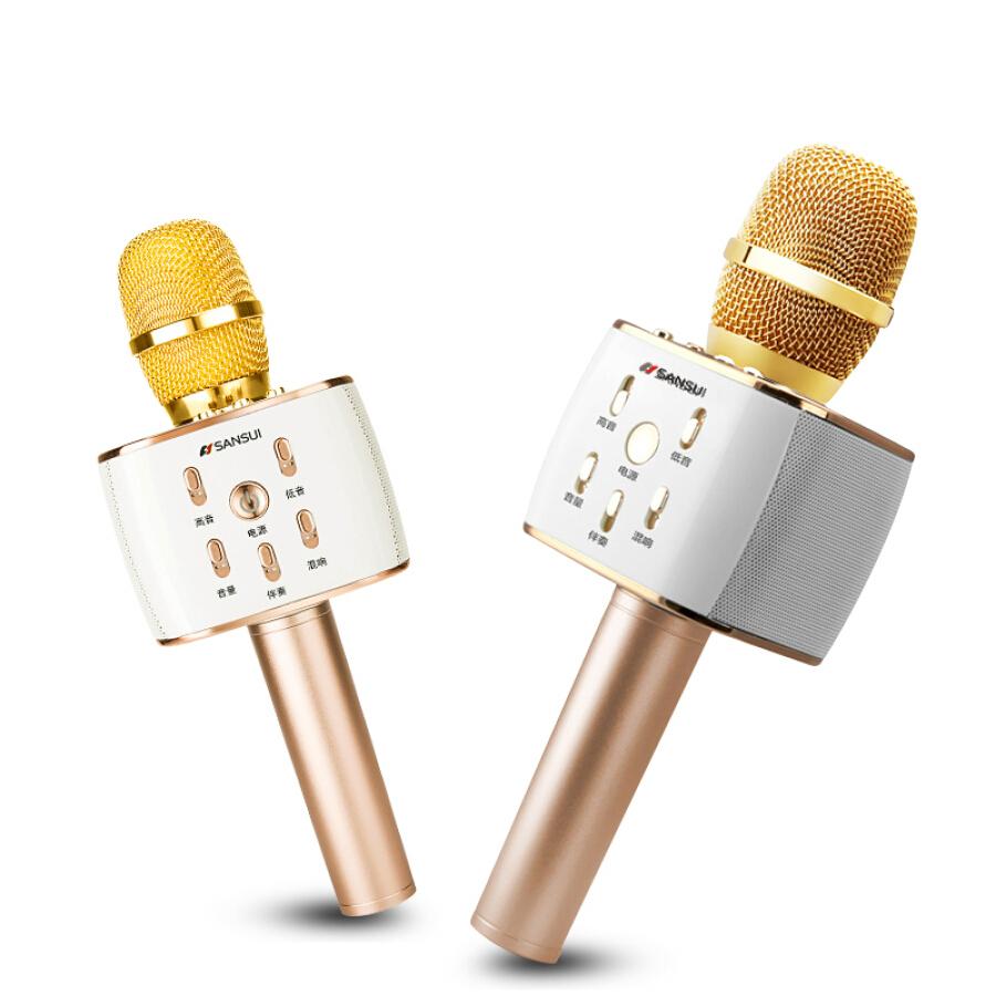 Micro Hát Karaoke Bluetooth SANSUI K3