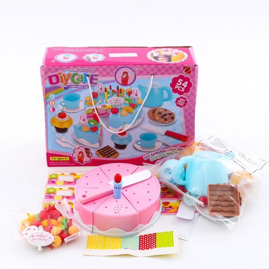 Đổ Chơi Cắt Bánh Sinh Nhật 75 Chi Tiết Toyshouse - Màu Hồng