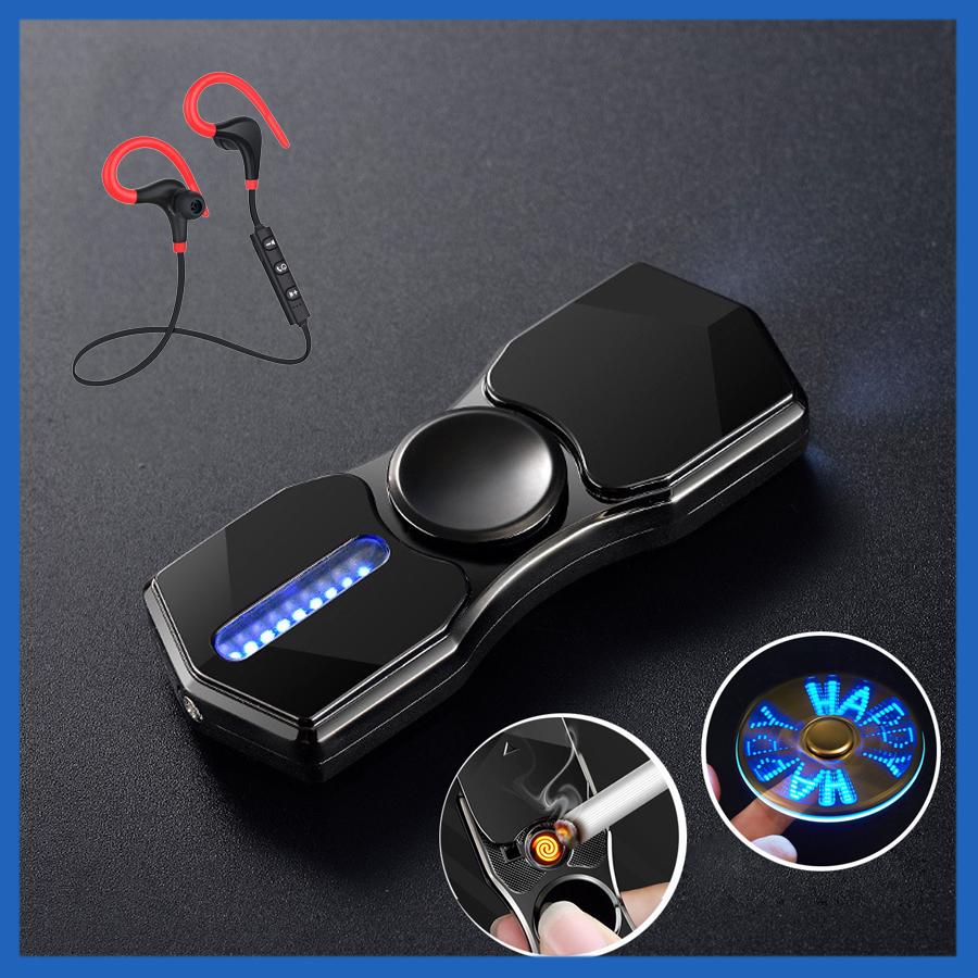 Hột Quẹt Bật Lửa Hồng Ngoại Kiêm Đèn Pin Sạc Điện USB Kiểu Dáng Spinner Tạo 12 Hiệu Ứng Đèn Led + Kèm Tai Nghe... - 1873875 , 8075846106621 , 62_14269650 , 600000 , Hot-Quet-Bat-Lua-Hong-Ngoai-Kiem-Den-Pin-Sac-Dien-USB-Kieu-Dang-Spinner-Tao-12-Hieu-Ung-Den-Led-Kem-Tai-Nghe...-62_14269650 , tiki.vn , Hột Quẹt Bật Lửa Hồng Ngoại Kiêm Đèn Pin Sạc Điện USB Kiểu Dáng S