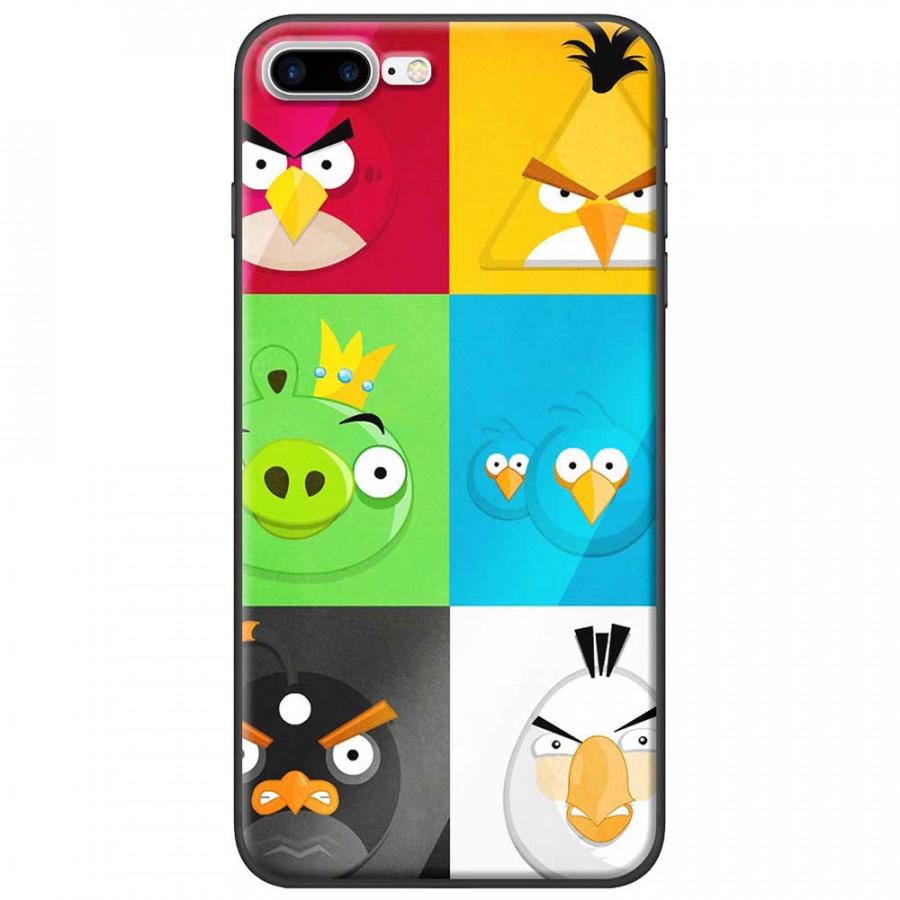 Ốp lưng dành cho iPhone 7 Plus mẫu Angry birds
