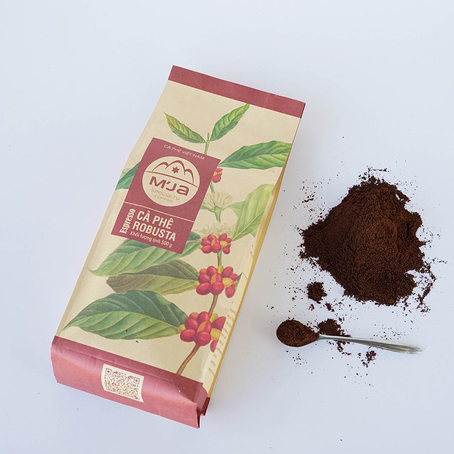 Cà phê M'Ja Robusta 500 gram - Dạng bột - 20132247 , 6070879067781 , 62_20689845 , 150000 , Ca-phe-MJa-Robusta-500-gram-Dang-bot-62_20689845 , tiki.vn , Cà phê M'Ja Robusta 500 gram - Dạng bột